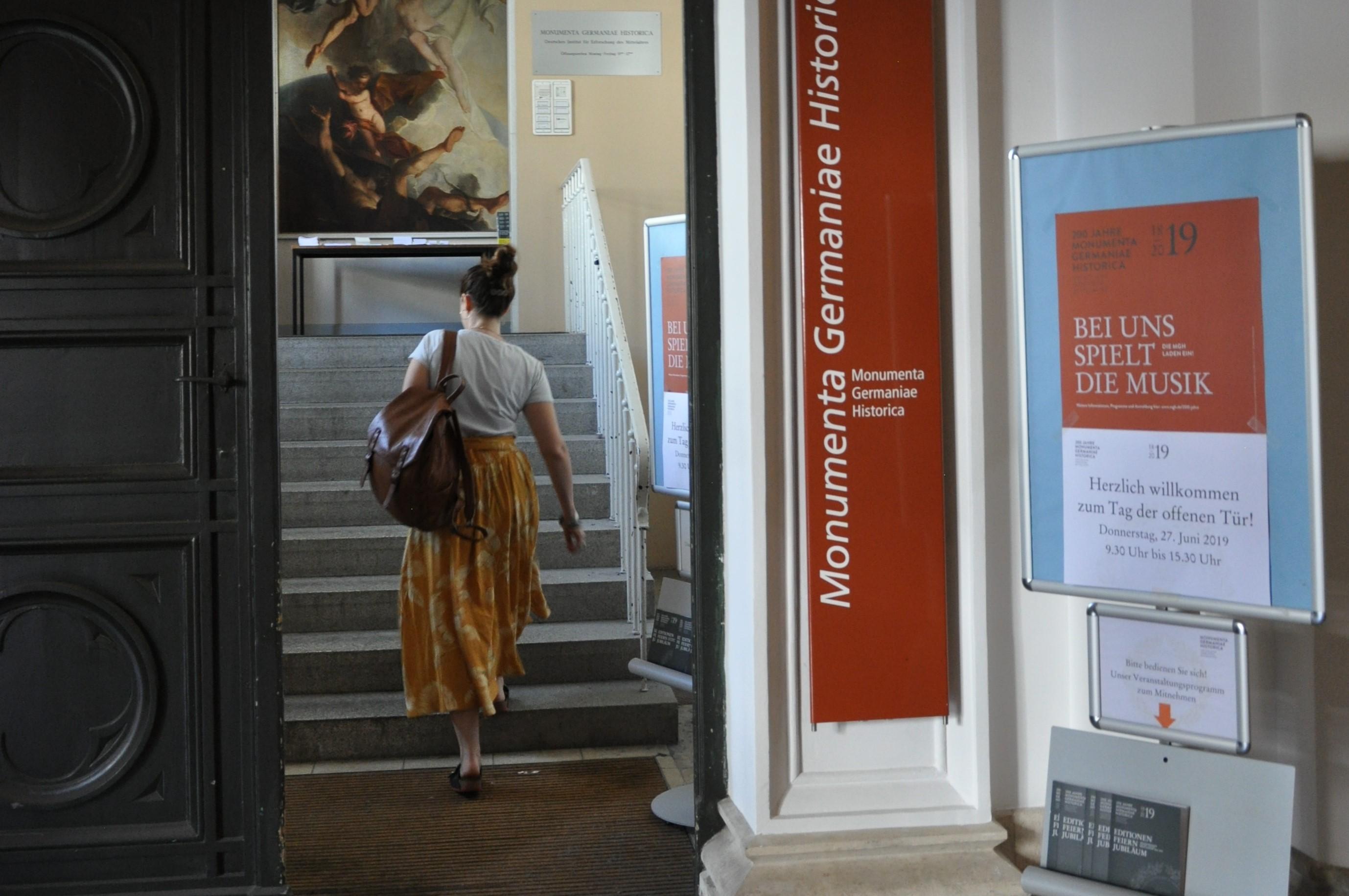 Tag der offenen Tür im Münchner Institut: Alles ist bereit für die Besucher!