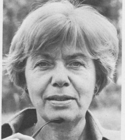 Sabina Lietzmann (1919–1995). Foto: privat