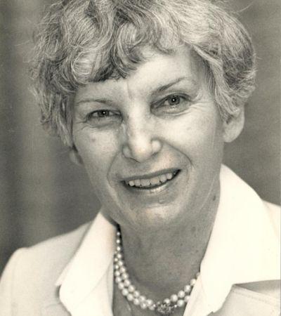 Irene Schmale-Ott (1916–2010). Foto: Wolfgang Schmale