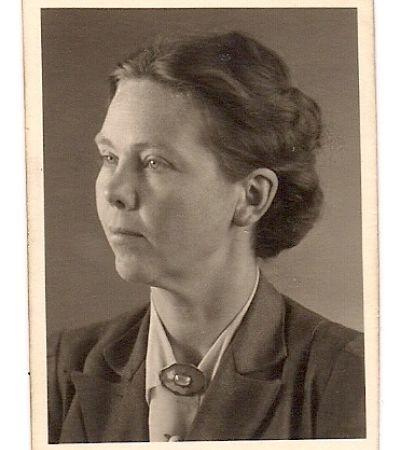 Annelies Scherrmann (1907–2009) um 1936. Foto: privat