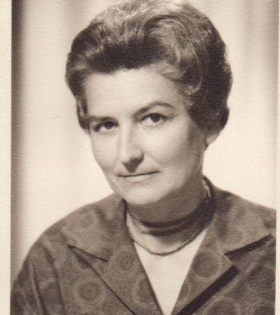 Ingeborg Most (1912–1973), geb. Kolbe. Foto: Historische Kommission