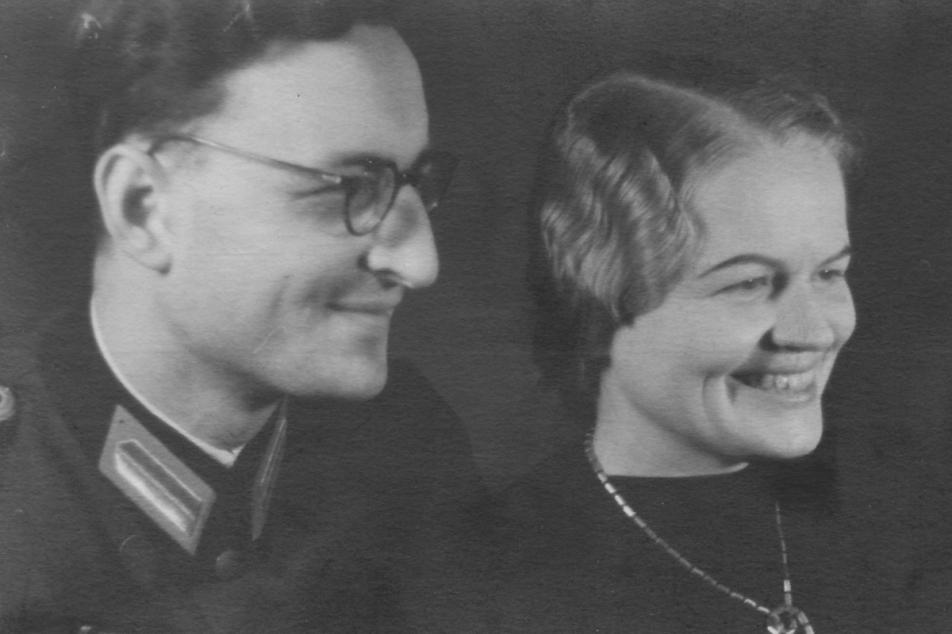 Ottokar Menzel und Hildegund Menzel-Rogner. Foto: Nachlass Martha Bühner